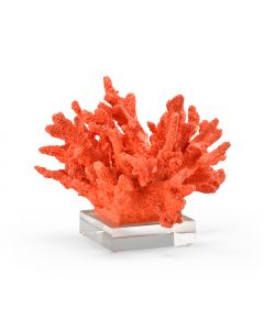 Red Coral Decorative Statue - ON BACKORDER UNTIL JULY 2020