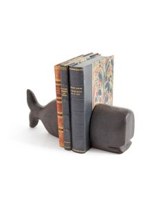 Cast Iron Whale Bookends - ON BACKORDER UNTIL EARLY MARCH