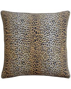 Cheetah Print Cotton Decorative Throw Pillow - Available in Three Sizes