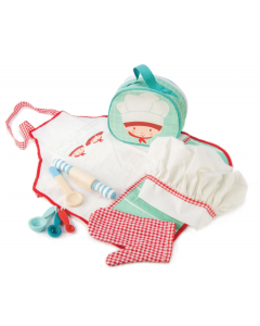 Chef's Bag Pretend Play Toy Set for Children