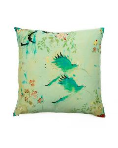 Chez Nous Fine Art Decorative Pillow
