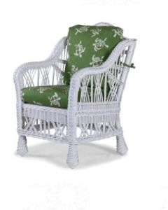 Children's Braided Wicker Dining Arm Chair - Available in a Variety of Finishes