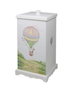 Children's Deluxe Hand Painted Hot Air Balloon Hamper