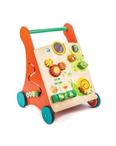 Garden Games Activity Walker Wooden Push Toy for Kids