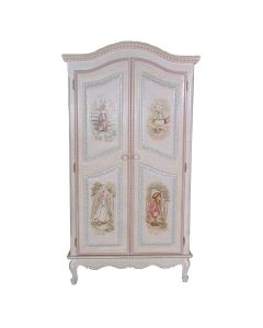 Children's Hand Painted Enchanted Forest Armoire