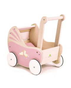 Pink Sweetiepie Doll Pram for Kids