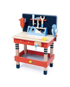 Pretend Play Wooden Tool Bench Toy for Kids