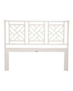 David Francis Chippendale Rattan Headboard - Variety of Finishes Available