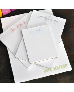 Combo Set of Personalized Notepads