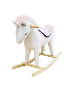 Corduroy Unicorn Rocker For Kids