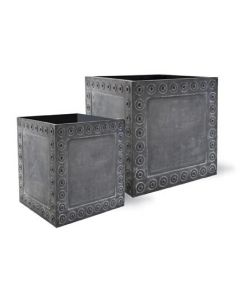 Thomas Garden Planter in Antique Faux Lead - Available in Three Sizes