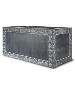 Thomas Trough Garden Planter in Antique Faux Lead