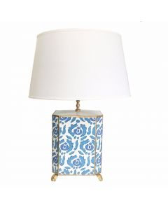 Beaufont Table Lamp in Blue  Two Shade Colors Available