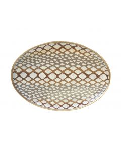 Oval Python Decorative Tray in Natural