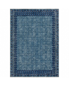 Dark Blue and Teal Tessera Rug - FINAL STOCK, CALL TO CONFIRM AVAILABILITY