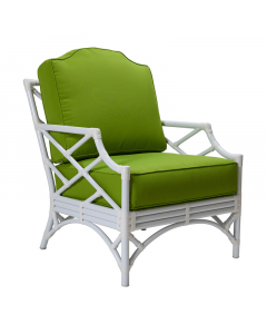 David Francis Chinese Chippendale Outdoor Lounge Chair - Available in a Variety of Finishes