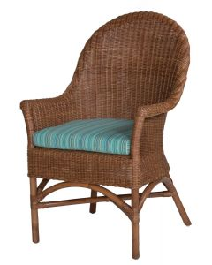 Wicker Coastal Arm Chair - Available in a Variety of Finishes