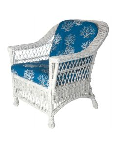 Nantucket Porch Wicker Arm Chair – Available in a Variety of Finishes