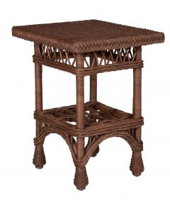 Harbor Front Wicker End Table – Available in a Variety of Finishes