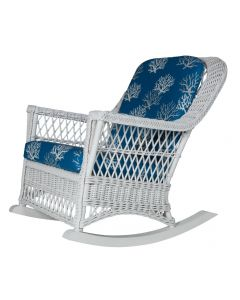 Classic Porch Wicker Rocker – Available in a Variety of Finishes