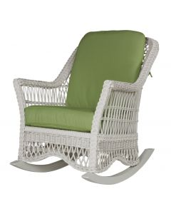 Porch Wicker Rocking Chair - Available in a Variety of Finishes