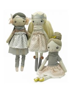 Emma, Hannah and Kate Doll Bundle Set for Girls