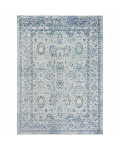 Emerald and Aqua Germili Rug