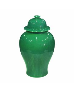 Emerald Green Temple Jar