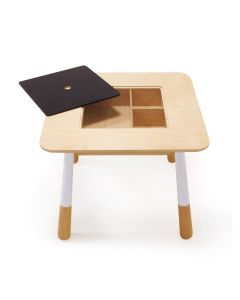 Enchanted Forest Table With Chalkboard Top and Storage - ON BACKORDER UNTIL END OF APRIL 2021