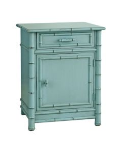 Faux Bamboo Nightstand - Available in a Variety of Finishes