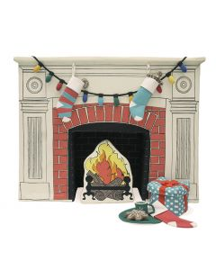 Fireplace with Accessories Toy for Kids