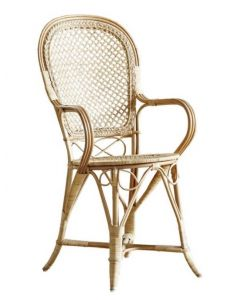 Fleur Rattan Arm Chair - Available in Two Colors
