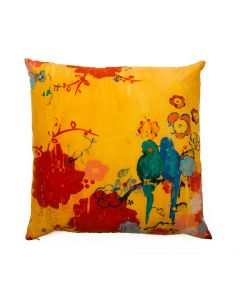 French Kimono Fine Art Decorative Pillow