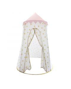 Gold and Pink Starburst Pop Up Playhouse Toy for Kids