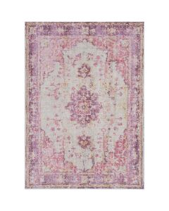 Grace Pink and Purple Persian Design Area Rug - Available in a Variety of Sizes