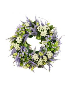 Grapevine Lavender Wreath