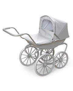 Gray London Doll Pram For Girls