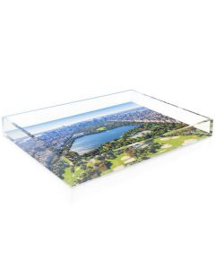 """Gray Malin """"The Central Park Tray"""" Acrylic Decorative Serving Tray - Available in 2 Sizes"""