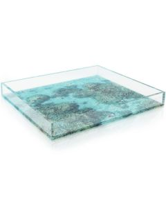 """Gray Malin """"The Reef"""" Acrylic Decorative Serving Tray - Available in 2 Sizes"""