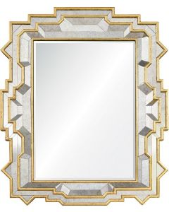 Michael S. Smith Gold Rush Antiqued Mirror