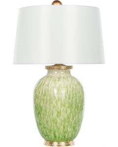 Bradburn Home Veranda Verde Table Lamp With Gold Base - BACKORDERED UNTIL MID MARCH 2020
