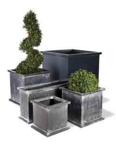 Regency Garden Planter in Faux Lead Finish - Available in Three Sizes