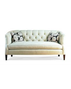 Tufted Back One Seat Cushion Upholstered Sofa