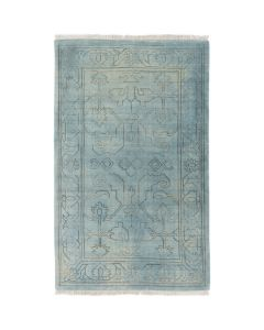 Hand Knotted Wool Sage Rug - Available in a Variety of Sizes