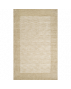 Hand Loomed Mystique Wool Rug in Khaki