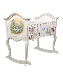 Hand Painted Flower Fairies Cradle
