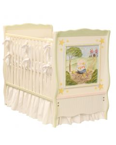 Hand Painted Nursery Rhymes Crib