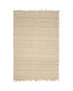 Hand Woven Jute Bleached Rug - Variety of Sizes Available