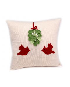 Handmade Holiday Cardinal Pillow - LOW STOCK - CALL TO CONFIRM AVAILABILITY