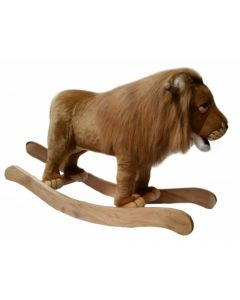 Lion Safari Jungle Stuffed Animal Toy Rocker for Kids
